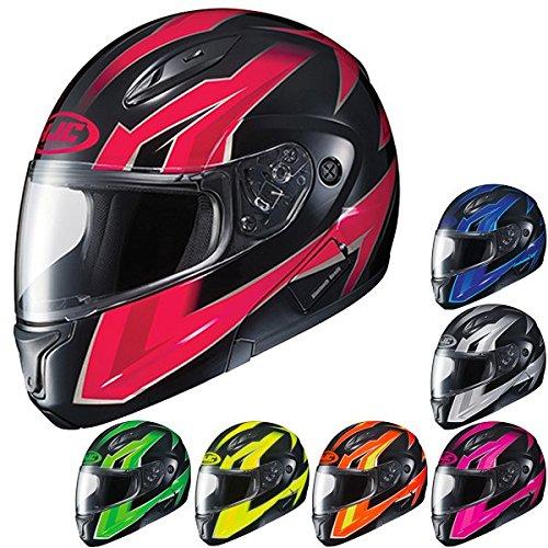 Hjc Cl-max2 Ridge Modular/flip Up Motorcycle Helmet (pink/black, Large)