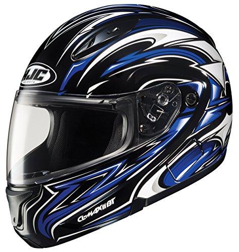 Hjc Cl-maxbt Ii Atomic Bluetooth Modular Motorcycle Helmet (mc-2, Xxx-large)
