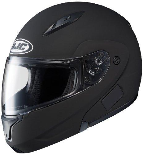 Hjc Cl-maxbt Ii Bluetooth Modular Motorcycle Helmet (matte Black, Large)