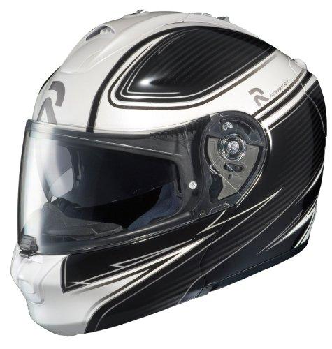 Hjc Rhpa-max Align Modular Motorcycle Helmet (mc-10, Medium)