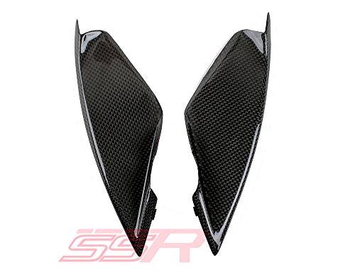 2003-2004 Ducati 749 999 Carbon Fiber Fibre Front Ram Air Intake Scoop Vent Trim Fairing