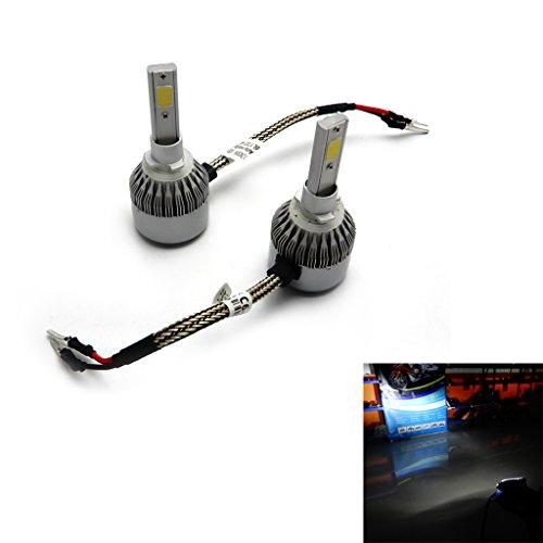 72W Headlights LED Super White Bulbs Driving Lamp for ATV Polaris Ranger 800 900 RZR