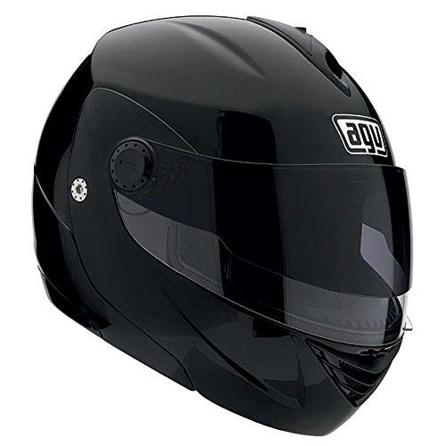 2013 AGV Miglia Modular 2 Motorcycle Helmets - BLACK SM