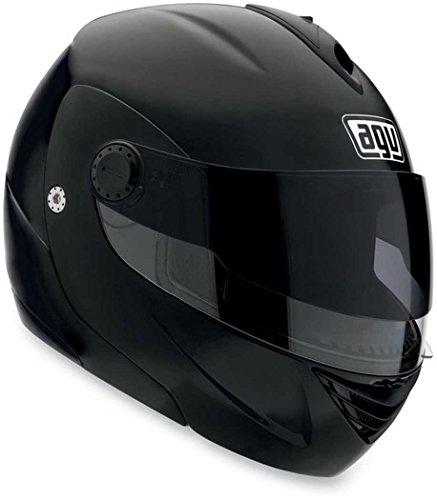 AGV Miglia 2 Solid Helmet  Size Md Primary Color Black Helmet Type Modular Helmets Helmet Category Street Distinct Name Flat Black Gender MensUnisex 089154B0003007