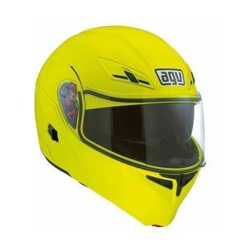 AGV Numo Modular Motorcycle Helmet Hi-Viz Medium