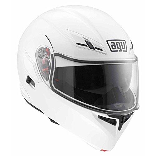 AGV Numo Modular Motorcycle Helmet White Medium