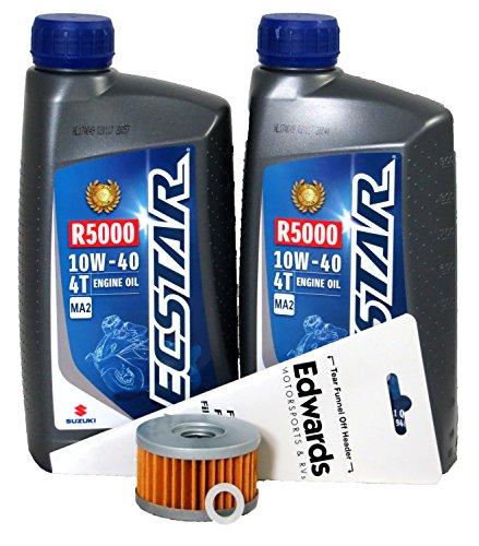 1996-2004 Suzuki LS650P SAVAGE Oil Change Kit