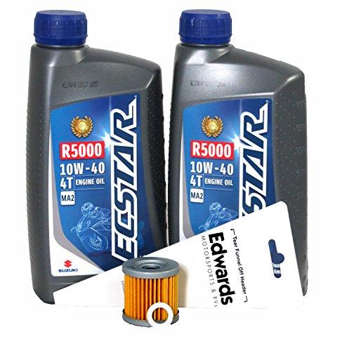2000-2009 Suzuki DR-Z400S Oil Change Kit