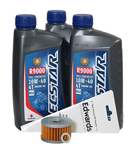 2005-2009 Suzuki LS650 S40 Full Synthetic Oil Change Kit