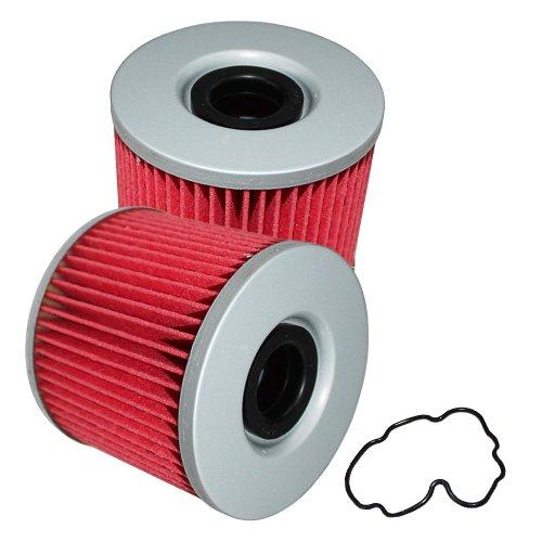 Caltric Oil Filter Fits SUZUKI GS1100 GS-1100 GS1100L GS1100E GS1100G GS1100S 1100 1980-1984 2-PACK