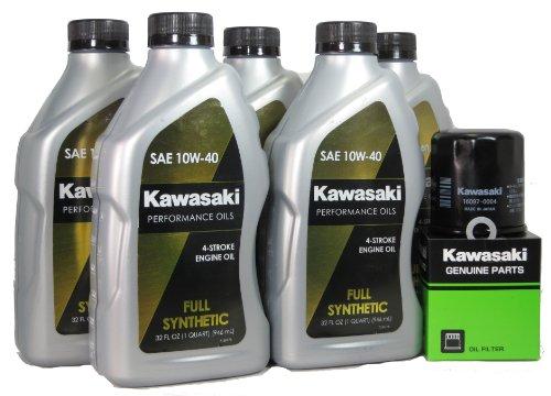 2007 Kawsaki NINJA ZX-14 Full Synthetic Oil Change Kit