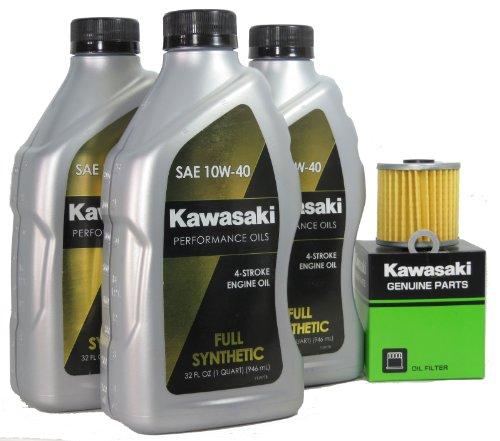 2013 Kawsaki KLR650 Full Synthetic Oil Change Kit