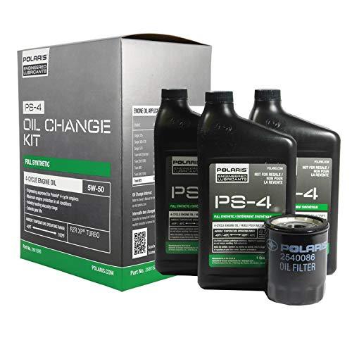 Polaris New OEM PS4 Full Synthetic Oil Change Kit 2881696