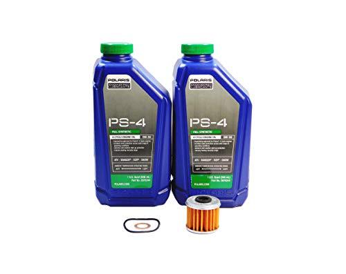 Polaris Ranger ETX OEM PS-4 Full Synthetic Oil Change Kit POL19