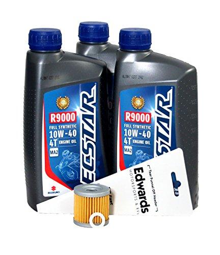 Suzuki 2004-2009 LT-Z400 Full Synthetic Oil Change Kit