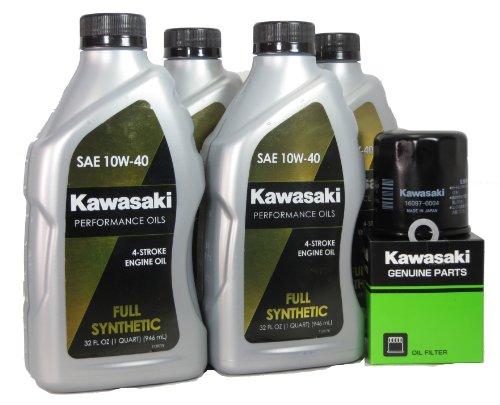 2011 Kawsaki NINJA ZX-6R Full Synthetic Oil Change Kit