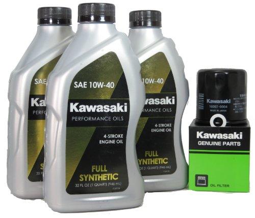 2013 Kawsaki NINJA 650 ABS Full Synthetic Oil Change Kit
