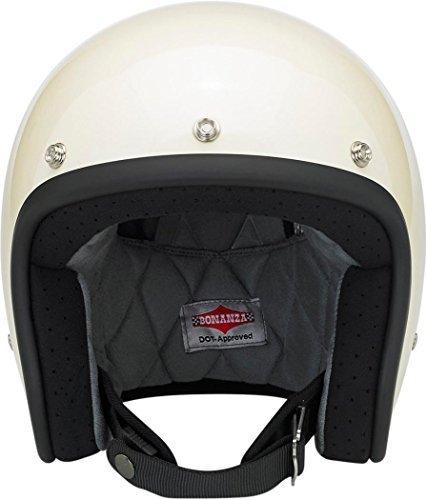 Biltwell Bonanza Gloss Helmet - MediumVintage White