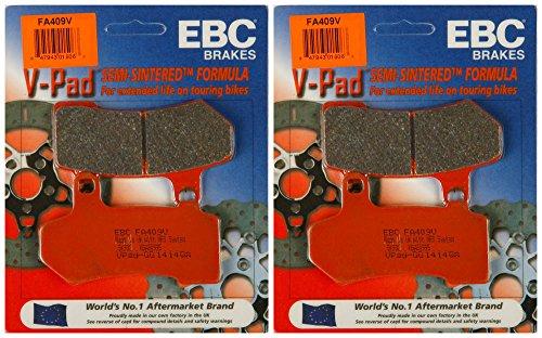 EBC Brake Pads FA409V 2 Packs - Enough for 2 Rotors