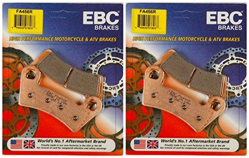 EBC Brake Pads FA456R 2 Packs - Enough for 2 Rotors