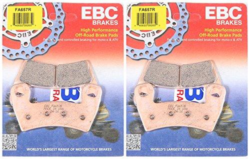 EBC Brake Pads FA657R 2 Packs - Enough for 2 Rotors