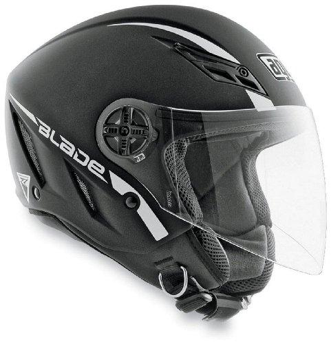 AGV Blade Solid Helmet  Size Md Primary Color Black Helmet Category Street Helmet Type Open-face Helmets Distinct Name Flat Black Gender MensUnisex 042154A0003007