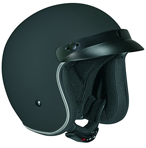 Vega X-380 Open Face Helmet Flat Black Medium