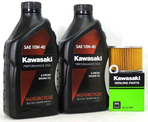 2008 Kawasaki EX250J8F Ninja 250R Oil Change Kit