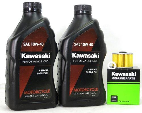 2008 Kawasaki KLX110A8F KLX110 Oil Change Kit