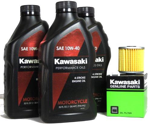 2009 Kawasaki KLR650 Oil Change Kit