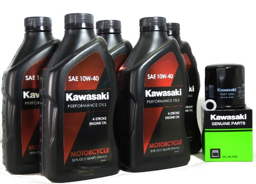 2013 Kawasaki NINJA ZX-14R Oil Change Kit