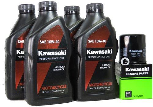 2013 Kawasaki NINJA ZX-6R Oil Change Kit