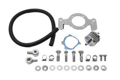 V-Twin 35-0125 - Crankcase Breather and Bracket Kit
