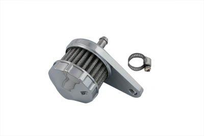 V-Twin 40-0246 - Chrome Crankcase Breather Assembly