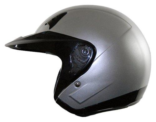 Vega NT 200 Open Face Helmet Silver X-Large
