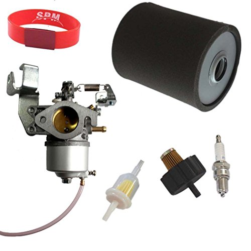 SPM Carburetor Air Filter Fuel Filter Tune-Up Kit for Yamaha Golf Cart Gas Car G2 G9 G11 4-Cycle Stroke 1985-1994