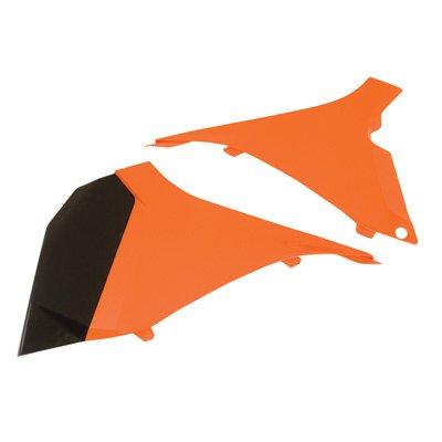 Polisport Air Filter Box Covers KTM Orange for KTM 300 XC-W E-Start 2012-2013