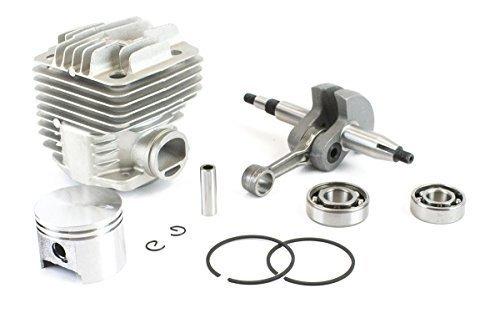 Engine Rebuild Kit for Stihl TS400 Includes Crankshaft Cylinder Piston Rod with Gasket Kit