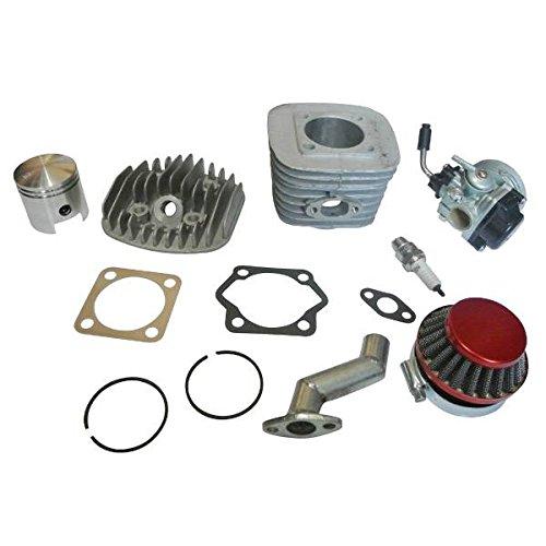 JRL Motorized Bike 80cc Engine Rebuild Kit Cylinder Piston Carburetor Air Filter New