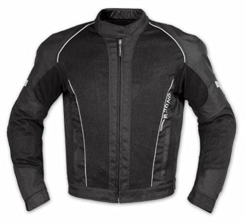 A-Pro - Eté Blouson Textile Touring Sport Moto Scooter Mesh Doublure Impermeable - Noir Xs