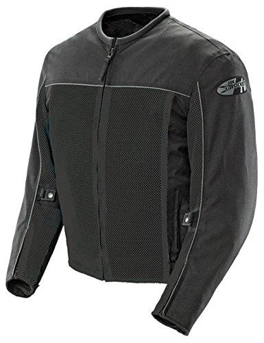 Joe Rocket Velocity Mens Mesh Riding Jacket Black X-Large