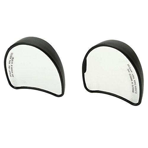 CICMOD New Motorbike Fairing Mount Rear View Side Mirror for Harley Davidson Street Glide FLHX Black