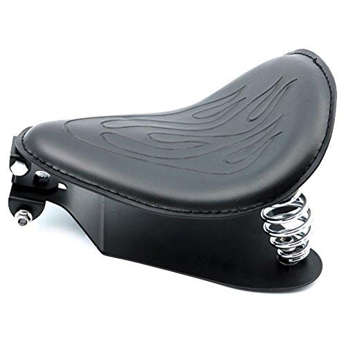 Alpha Rider SOLO Spring Bracket Seat Base Mount Kit Barrel Spring For Harley Sportster 883 1200 48