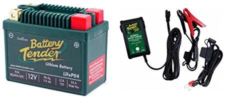 BTL09A120C Lithium 12V 120 CCA  Battery Tender Junior 800 022-0199-DL-WH Combo