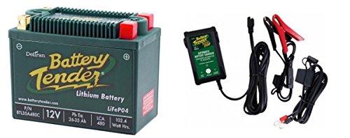BTL35A480C Lithium 12V 480 CCA  Battery Tender Junior 800 022-0199-DL-WH Combo
