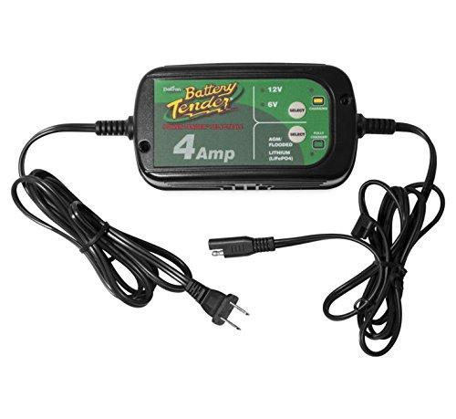 Battery Tender 022-0209 Selectable 6-V12-V 4-Amp Power Tender Battery Charger - 4 Amp
