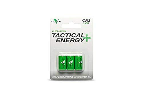 Viridian CR2 3v Lithium Battery 3-pack