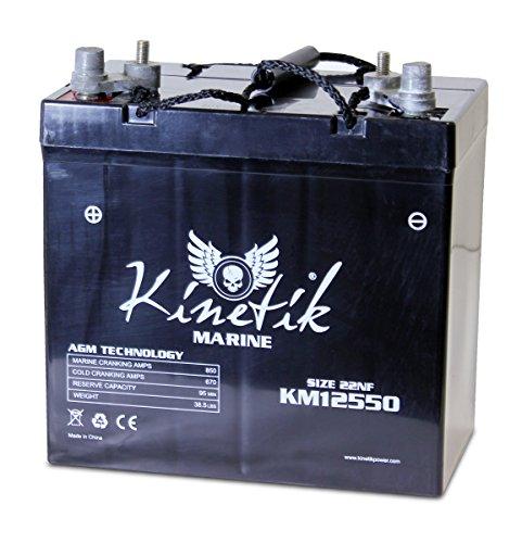 UPG 40600 Ub12550 Group 22nf Marine Sealed Lead Acid Battery
