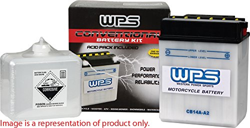 WPS Conventional 12V Heavy Duty Battery With Acid Pack CB10L-B
