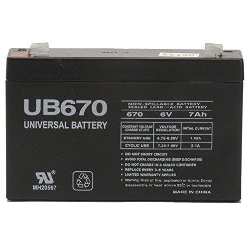Black Medium 6V 72Ah VRLA Battery with F1 Terminal